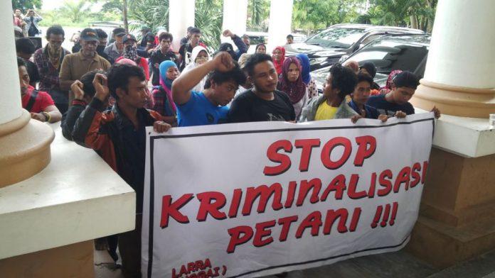 Aksi Solidaritas Petani Bohotokong